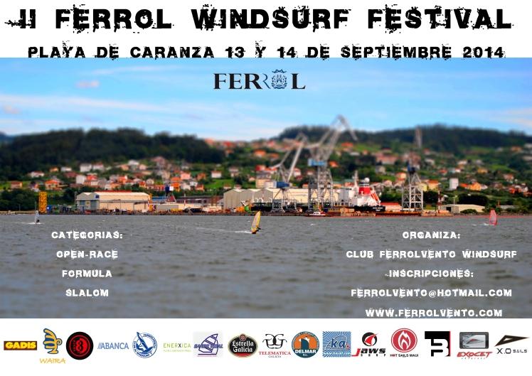 II FERROL WINDSURF FESTIVAL DINA3 DEFINITIVO