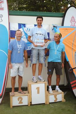 Mori ganó en windsurf