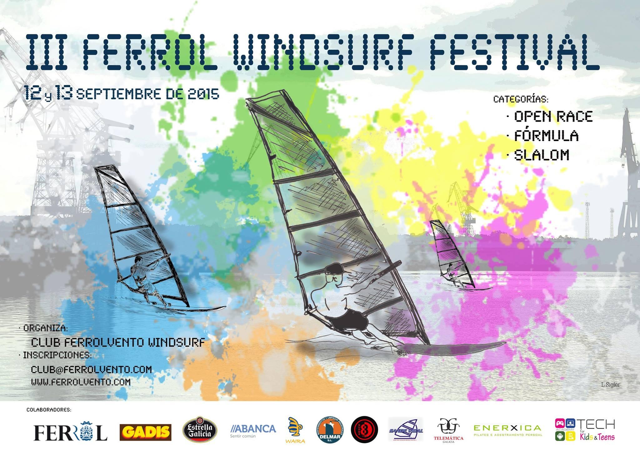 FERROL WINDSURF FESTIVAL 2015